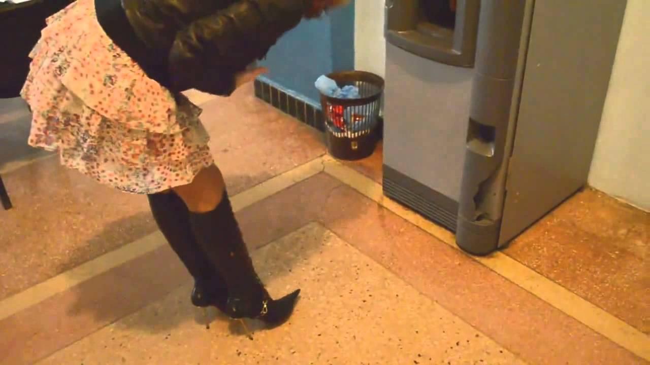 Black spike heels crush movie - 5 5