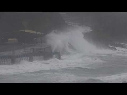 Storm Brian Douglas, Isle of Man October 21, 2017 2