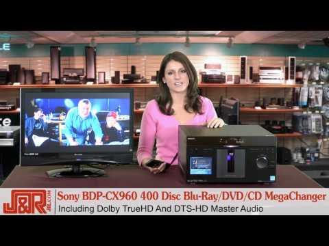 Review - Sony BDP-CX960 400 BLU-RAY/DVD/CD MegaChanger
