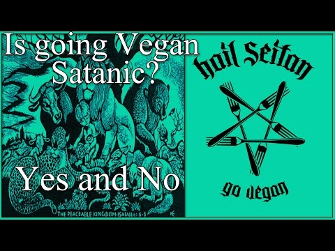 The Satanic Agenda of going Vegan for the wrong reasons may lead to Cannibalism