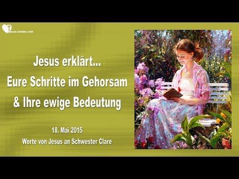 EURE SCHRITTE IM GEHORSAM & IHRE EWIGE BEDEUTUNG ❤️ Liebesbrief von Jesus