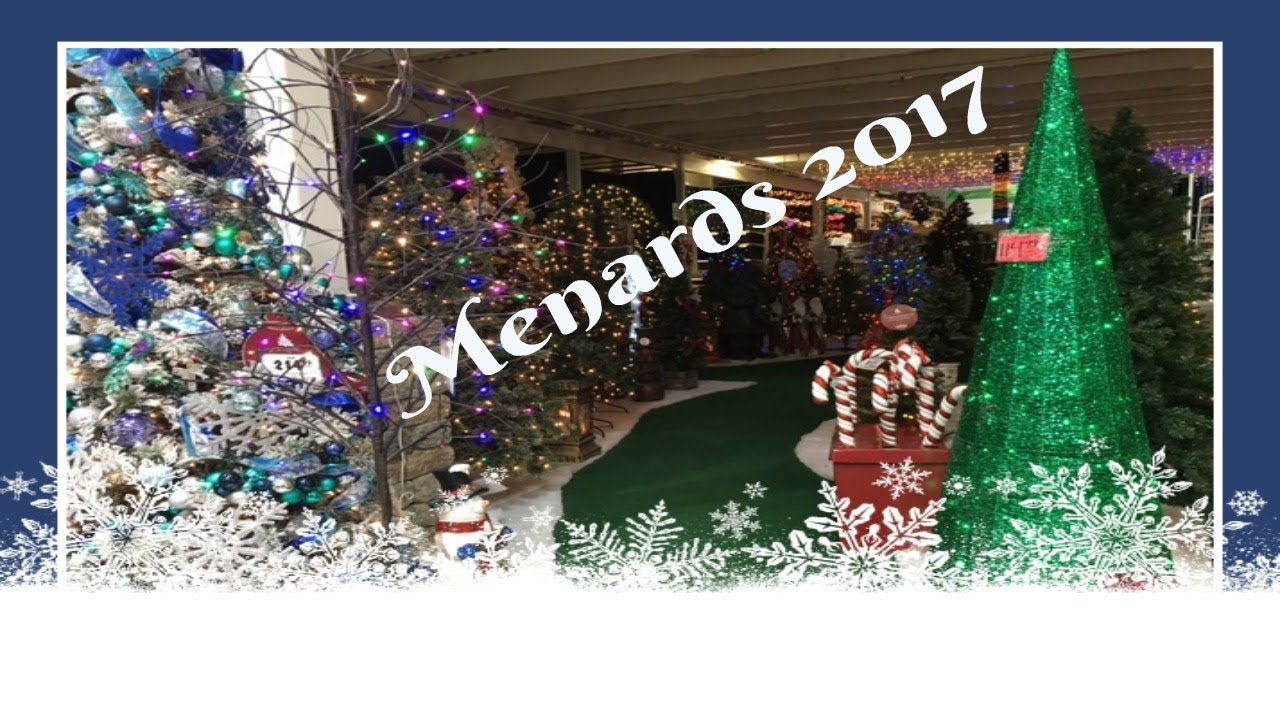 Marvelous Christmas Decor Shopping At Menards! Pt. 1 2017 Good Looking