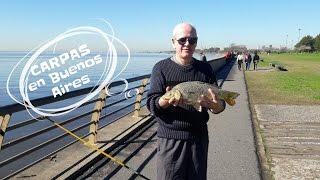 Зимняя рыбалка на карпа(Зимняя рыбалка в Буэнос-Айрес. Август это зима в Аргентине. Выходной в парке Буэнос-Айреса. ** Спасибо за..., 2016-08-07T11:20:18.000Z)