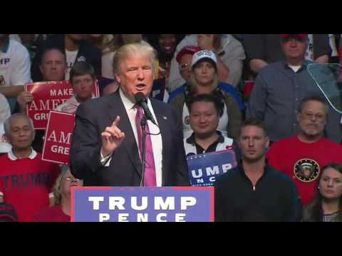 Donald Trump Everett Wa FULL Speech 8/30/16