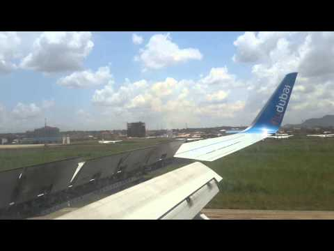 Flying / landing to Juba, South Sudan