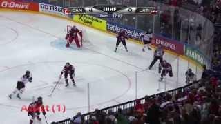 Sidney Crosby IIHF 2015 Highlights