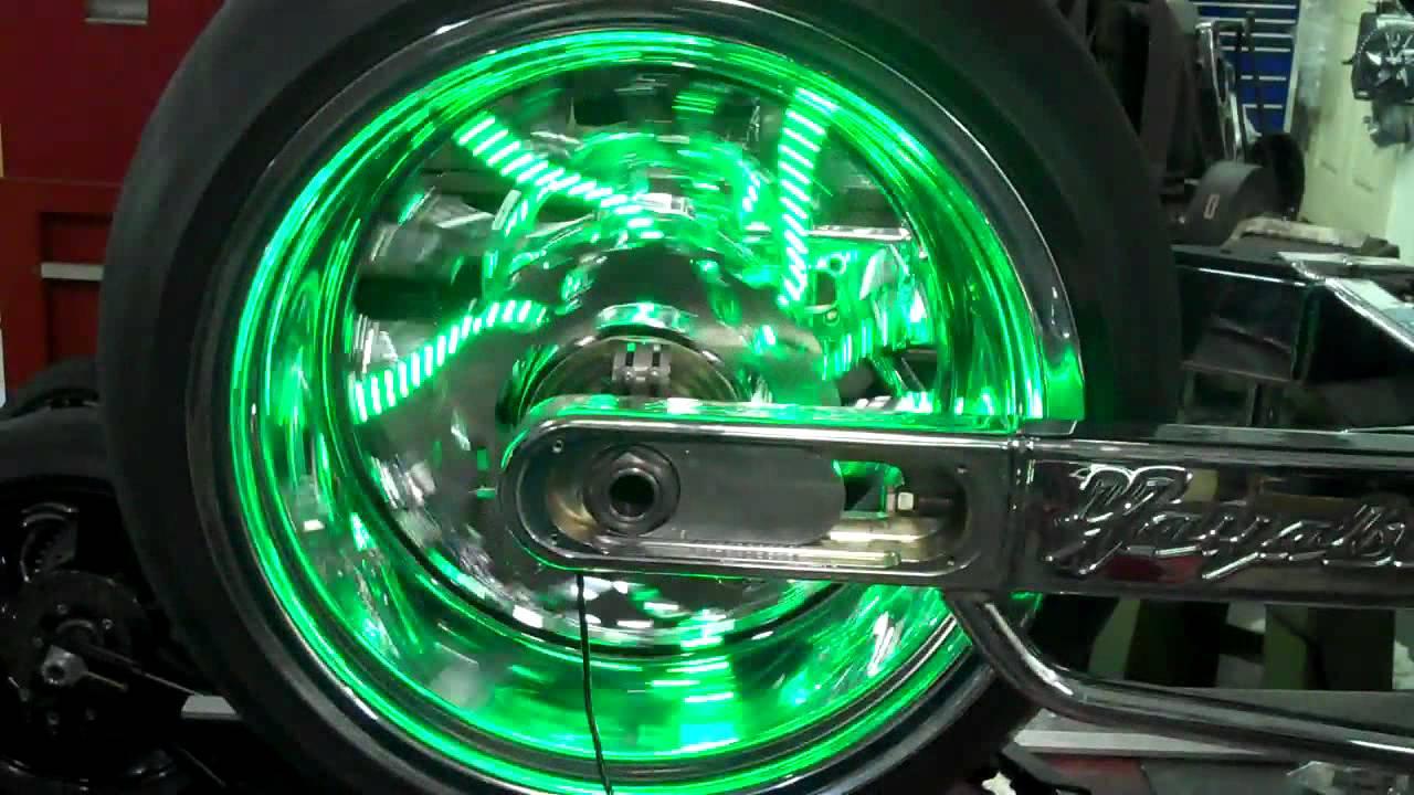 Led Headlight Kit >> hayabusa wheel light kits led wheel lights - YouTube