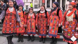 Бурановские бабушки на Масленице в Лондоне