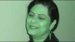 TUM APNA RANJO GHAM APNI PARESHANI  - Jagjit Kaur - Dedicated to my face book friend Khalid ji :).