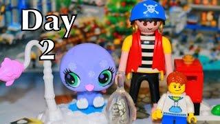 advent calendar day 2 lego lps playmobil pirate ship christmas countdown littlest pet shop toys