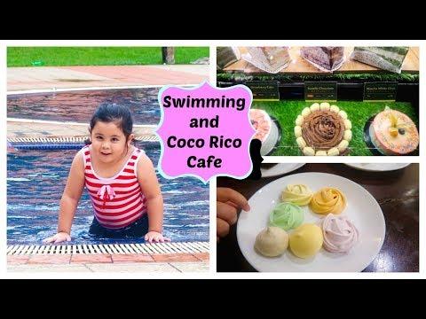 HARI RAYA VACATION 2017 Swimming and Coco Rico desert!!!