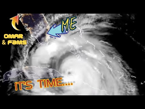 (WORRIED) for My FRIENDS as HURRICANE IRMA ARRIVES