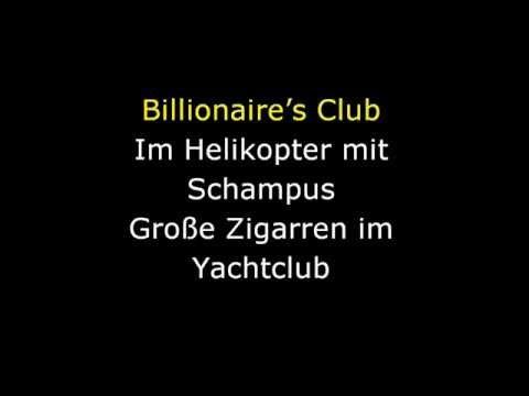 Kollegah feat. Sun Diego - Billionaire`s Club (Karaoke)