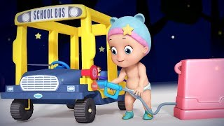 Wheels On The Bus Goes Round and Round Baby Nursery Rhymes Edition and much more | Infobells