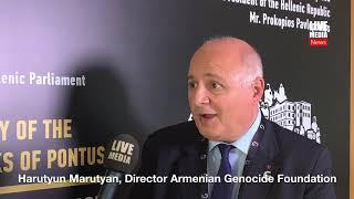 Harutyun Marutyan, Διεθνές Συνέδριο για το Έγκλημα της Γενοκτονίας