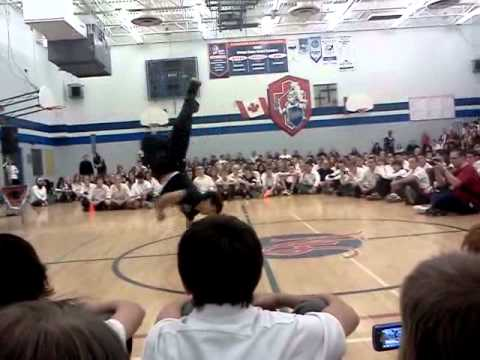 Holy Names Highschool Pep Rally 2011