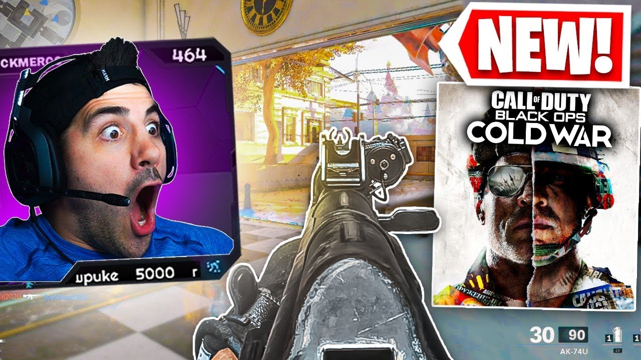 The *NEW* Cold War Multiplayer Gameplay! (Call of Duty Black Ops Cold War)
