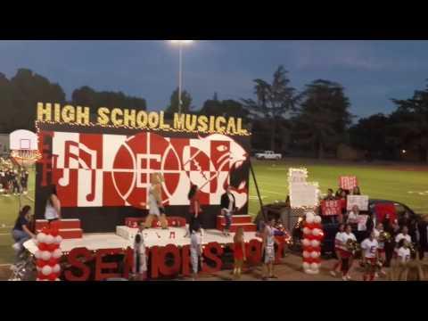 Enochs High School Homecoming Senior Float