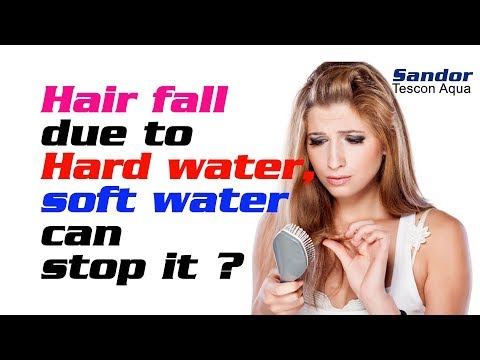 hair-fall-due-to-hard-water,-soft-water-can-stop-it