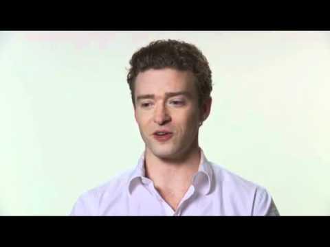 La Red Social - Estreno 15 Octubre 2010-Entrevista Justin Timberlake