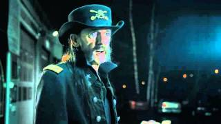 Lemmy in Valio milk advert