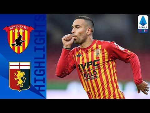 Benevento Genoa Goals And Highlights