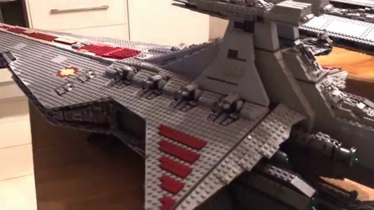 Lego star wars venator class star destroyer and 10030 and - Croiseur star wars lego ...