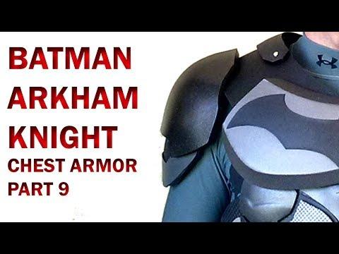 Batman Arkham Knight  Chest Armor Part 9  DIY Shoulder Foam Armor