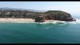 Drone flight 238, Zuma Beach CA