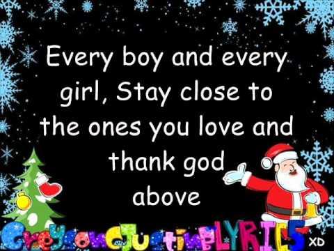 Christmas Love By Justin Bieber (lyrics).wmv