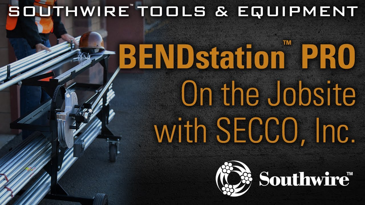 Southwire BENDstation™ PRO: On the Jobsite with SECCO, Inc. - YouTube