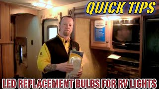 LED Replacement Bulbs for RV Lights | Pete