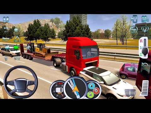 Euro Truck Driver 2018 #1 NEW TRUCKS GAME! - Android gameplay