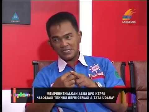 LIVE TALK SHOW BATAM TV -  PENGENALAN ASISI DPD KEPRI