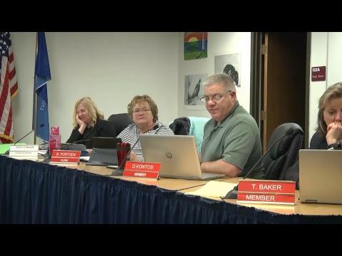 January 14, 2019 School Board Meeting