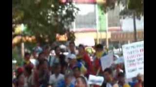 Saboteo Guarimberos sifrinos en Ciudad Ojeda 05-03-2014