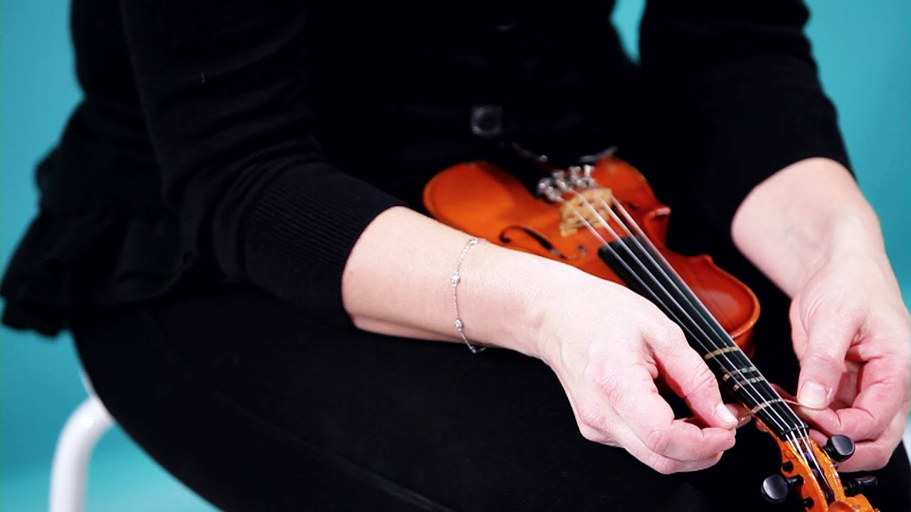 How to Apply Fingering Tapes | Violin Lessons