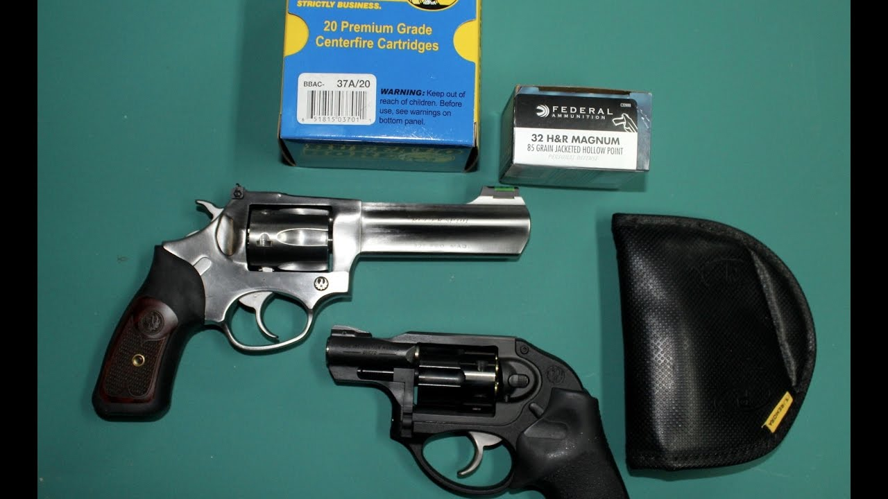 Ruger Sp101 327 Federal Magnum With 3 Different