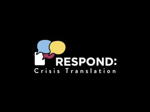 We Are Respond Crisis Translation