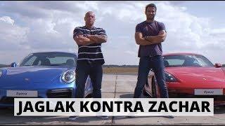 Zachar kontra Jaglak: czy Cayman wygra z 911 Turbo S?