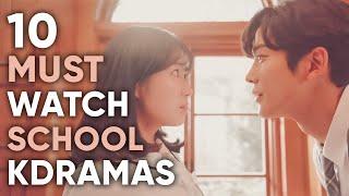 10 Must-Watch High School & University Korean Dramas