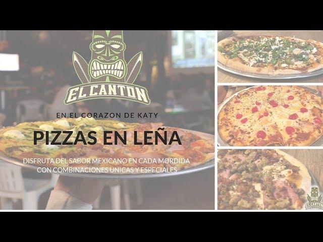 Pizzas en leña estilo mexicano en Katy