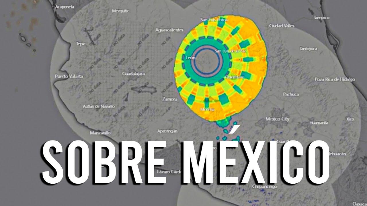 ACABA de ser DETECTADO sobre MÉXICO con Radares Meteorológicos
