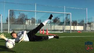 Torwarttraining am Deutschen Fußball Internat (2)