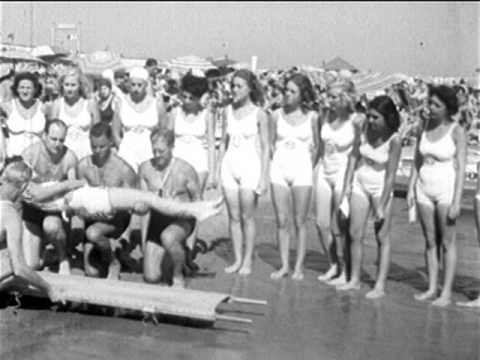 "Sexist 1930s Newsreel: ""Lady Lifeguards"""