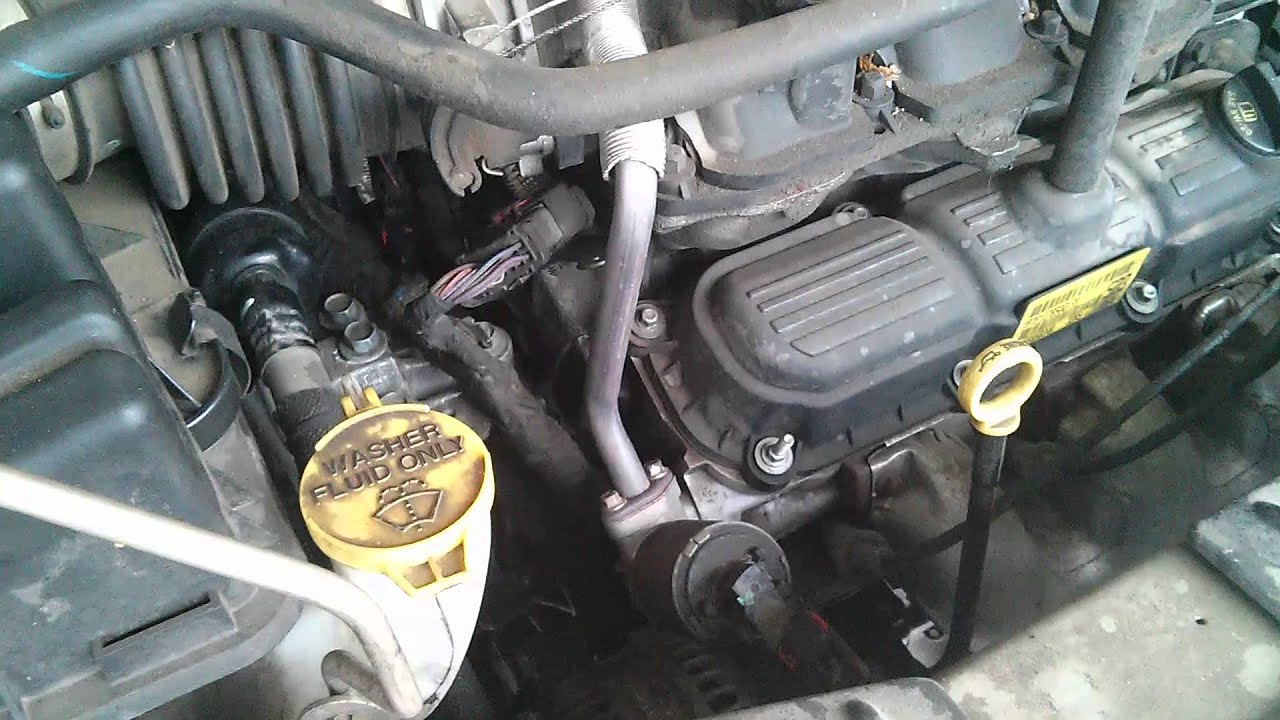 Changed My 2005 Town And Country Water Pump Youtube
