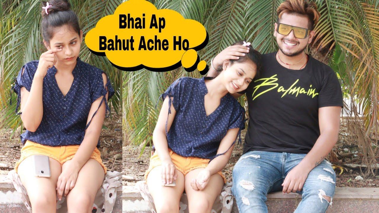 Flirting Prank Gone Emotional😓 ( Bhai Bhen ka Pyar ) Ajay Dhingra