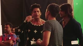 Shahrukh Khan stars in Bollywood Parks Dubai making-of video