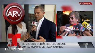 Qué hay tras la misteriosa rueda de prensa de Juan Gabriel | Al Rojo Vivo | Telemundo