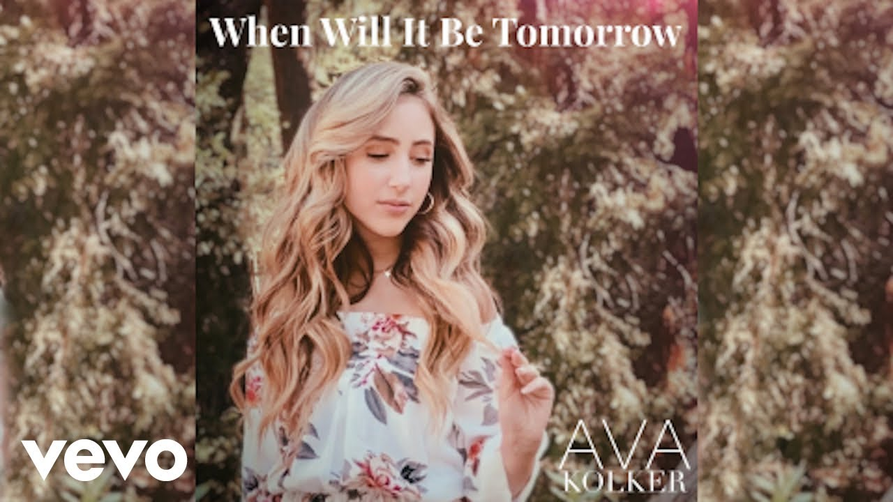 Premiere Disney S Ava Kolker Shares New Visual For When Will It Be Tomorrow Reignland